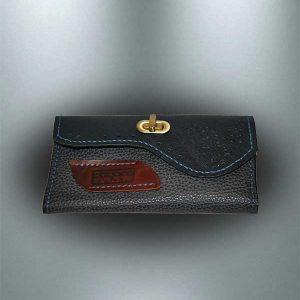 کیف پول چرمی دستدوز مدل P0-9701