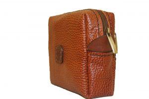 کیف آرایش چرمی دست دوز مدل A0-9602