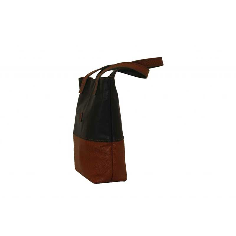 کیف دوشی چرمی دست دوز زنانه دو رنگ مدل D0-9601۱۸۵۴۳