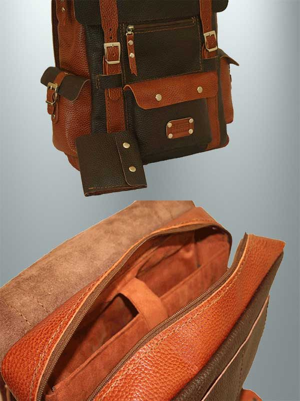 کوله پشتی چرمی K1-9601