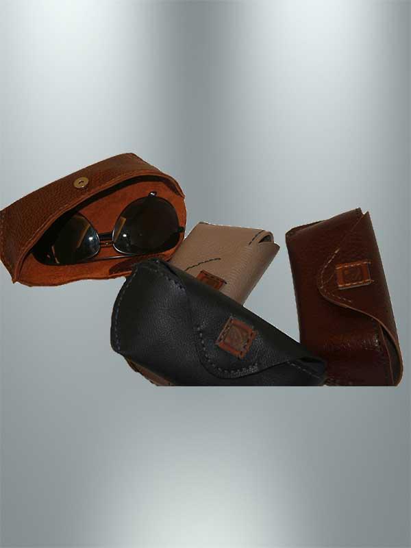 جا عینکی چرمی دست دوز مدل je2-9601