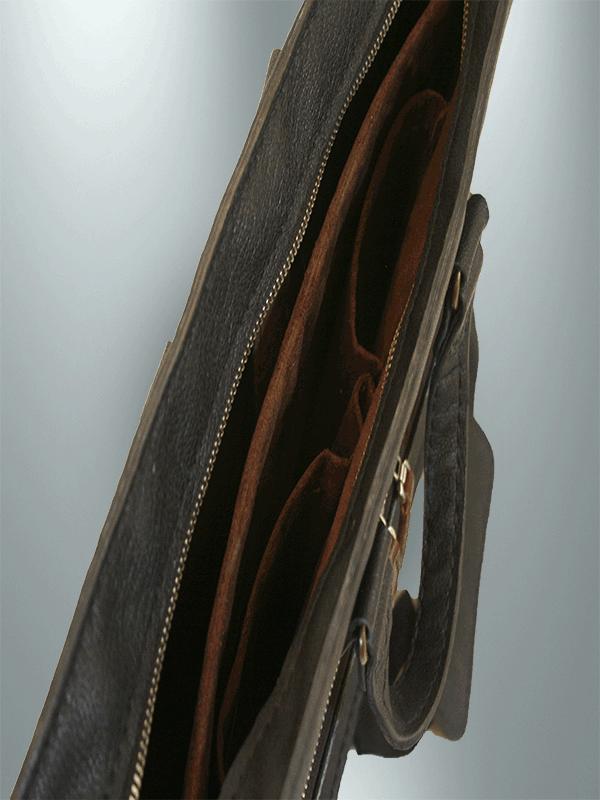 کیف دیپلمات دست دوز چرمی مدل DT1-9601 -a1-a2 - a34