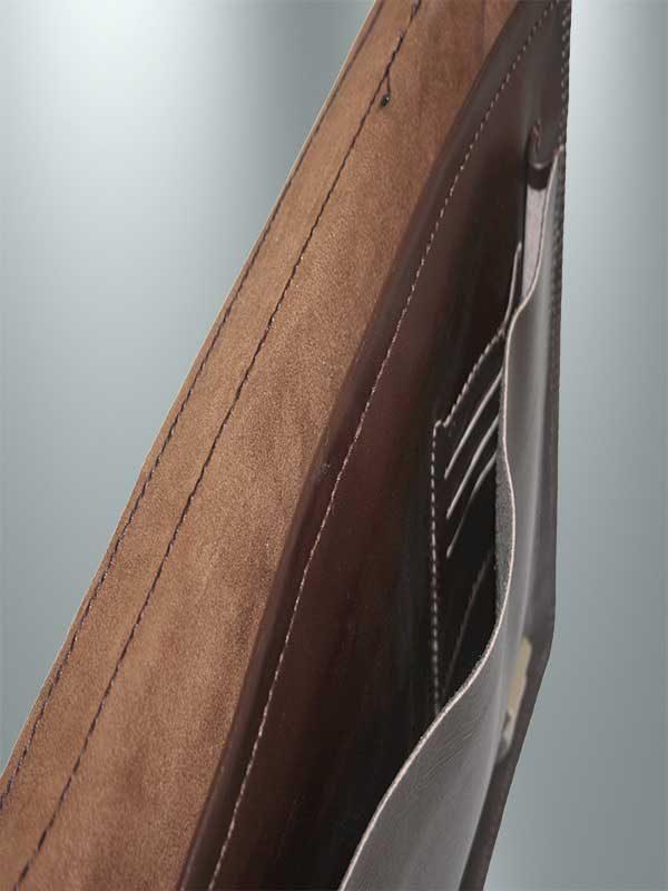 کیف دیپلمات چرمی دست دوز مدل DT1-9602