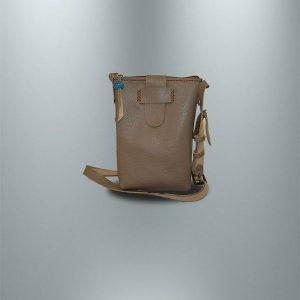 کیف دوشی چرمی دست دوز زنانه مدل D0-9605