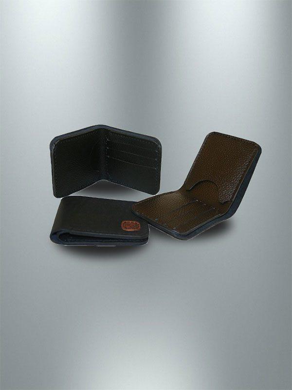 کیف پول جیبی چرمی دست دوز مردانه P1-9608