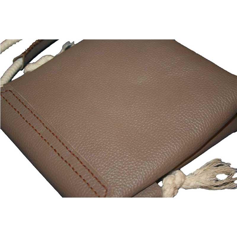 کیف دوشی چرمی دست دوز زنانه D0-97011