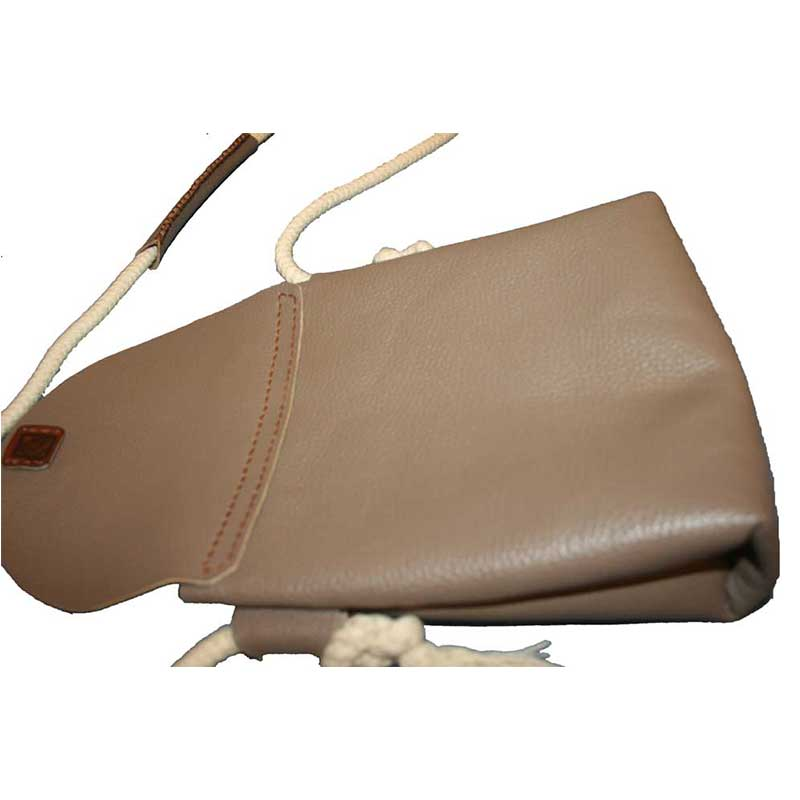 کیف دوشی چرمی دست دوز زنانه D0-970112