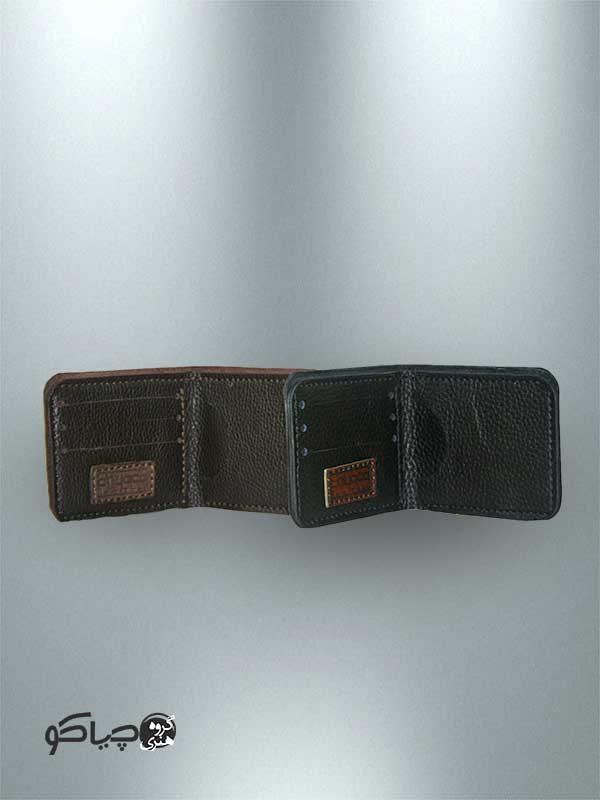 کیف پول دست دوز چرمی P1-9608