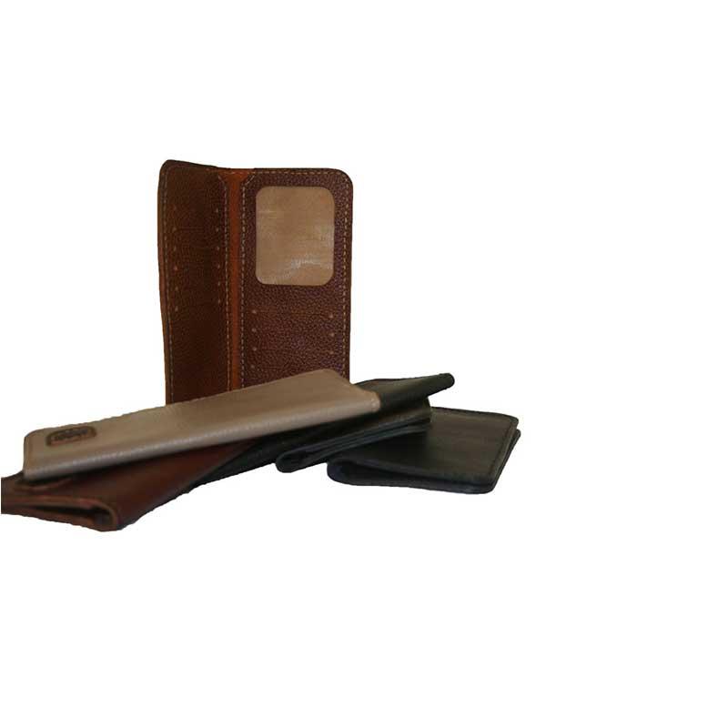 کیف پول کتی دست دوز چرمی مدل P1-9609124