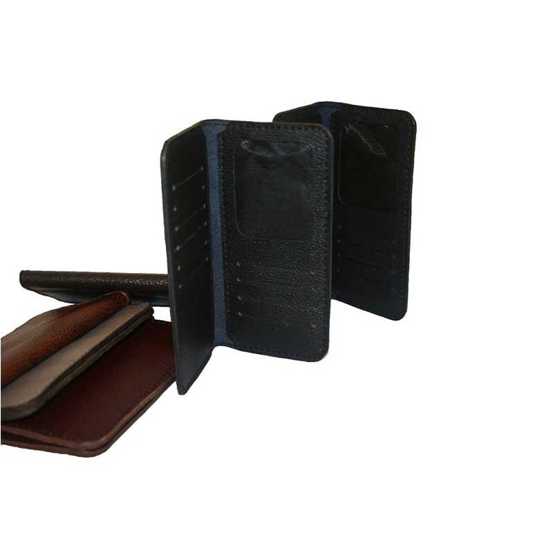 کیف پول کتی دست دوز چرمی مدل ۵P1-960912468