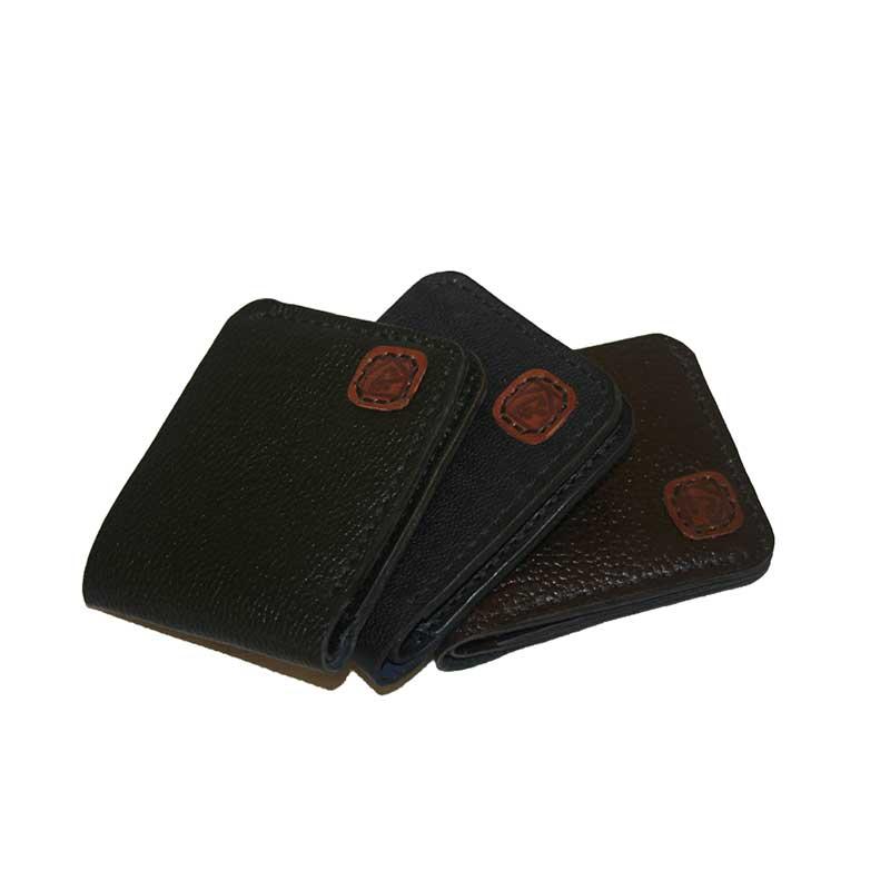 کیف پول جیبی چرمی دست دوز مردانه P1-960812