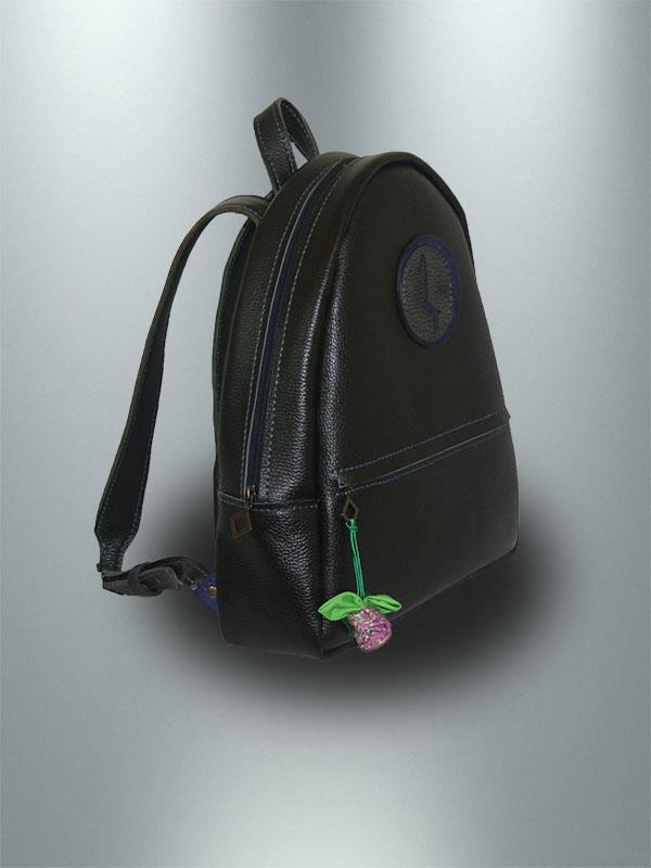 کوله-پشتی-دست-دوز-چرمی-مشکی-مدل-k2-9703