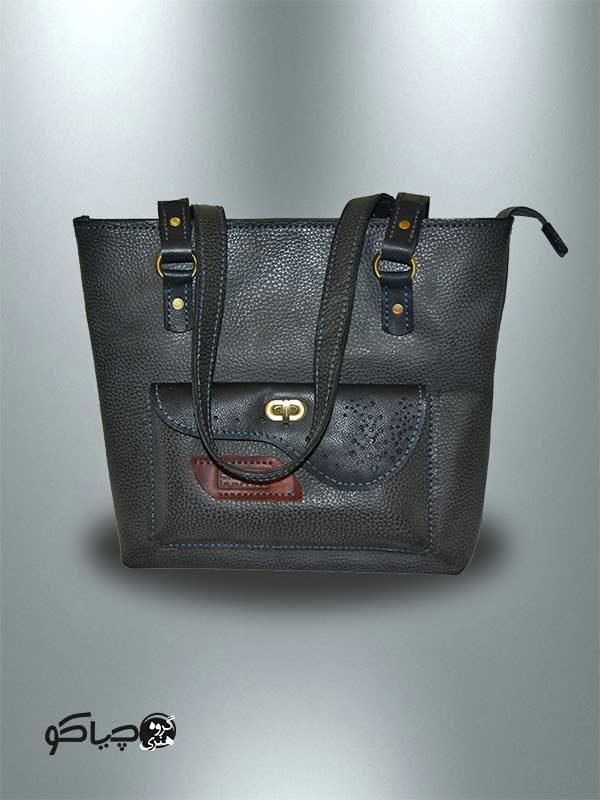کیف چرمی دستدوز مدل D0-9704
