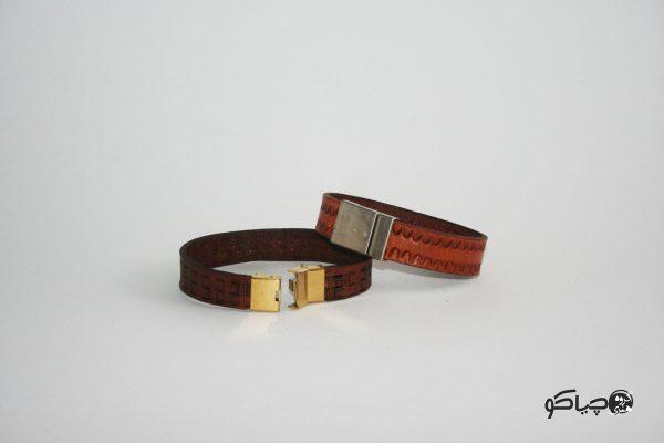 دستبند چرمی مردانه Dd1-9701