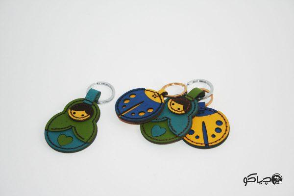 جا کلیدی چرمی JD-9701