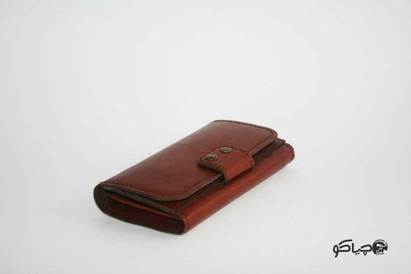 کیف پول زنانه چرمی P0-9704