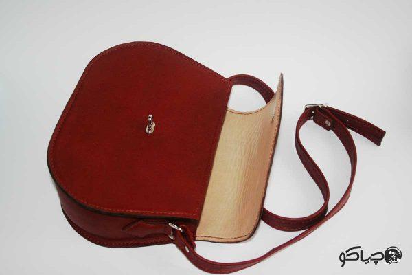 کیف دوشی چرمی D0-9106
