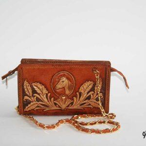کیف دوشی چرمی D0-9107
