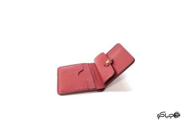کیف پول چرمی زنانه مدل P0-9801