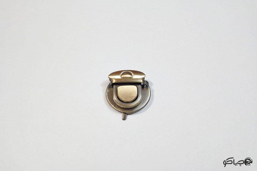 قفل کیف مدل پرچی تک نقطه