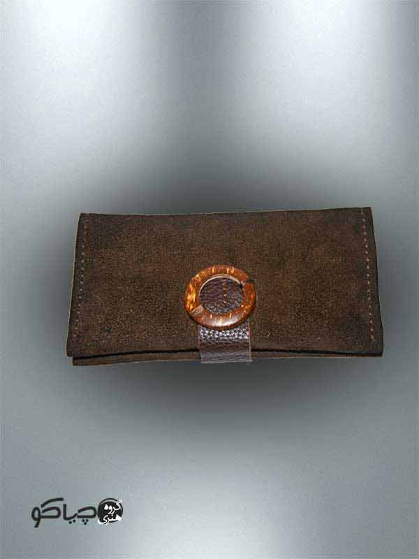 کیف پول دست دوز چرمی P0-9702