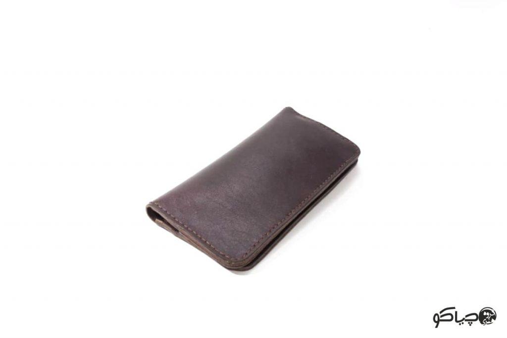 کیف پول چرمی دست دوز مدل P1-9801