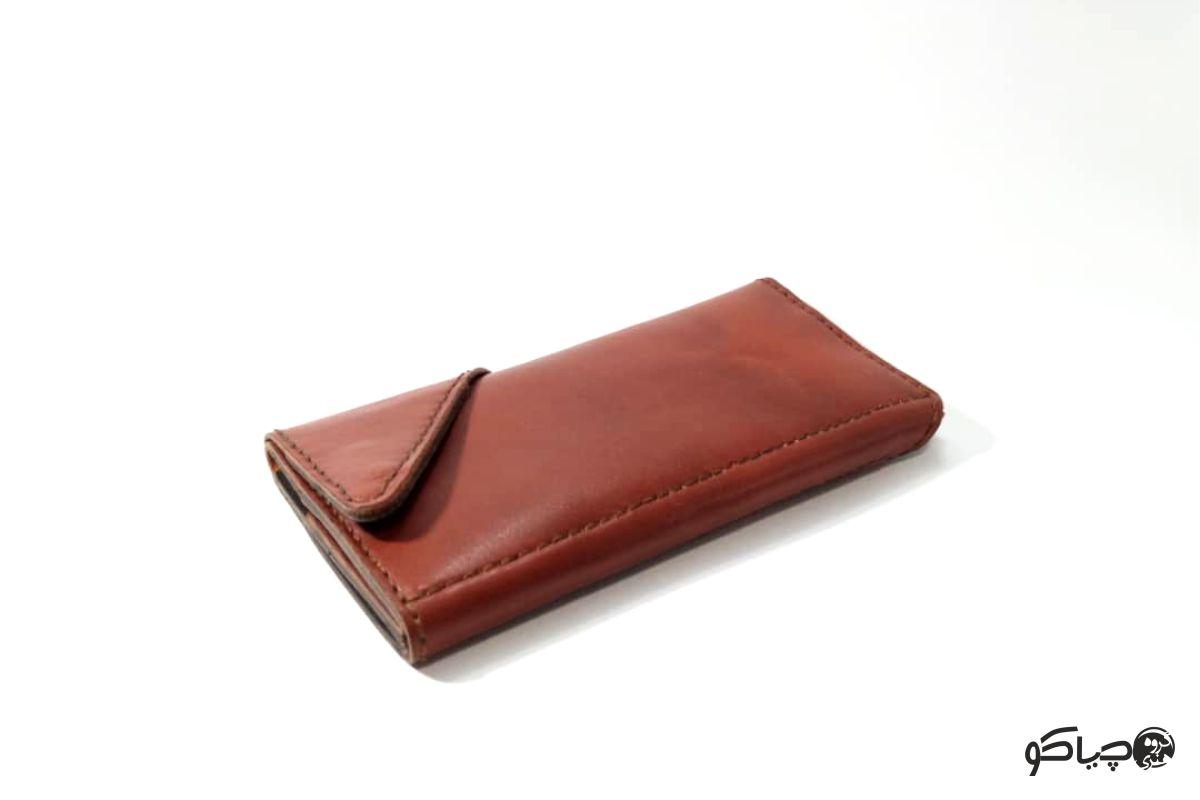 کیف پول چرمی دست دوز مدل P0-9802